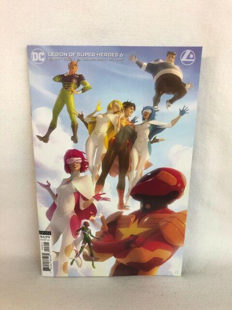 DC Legion of Super-Heroes #6 VAR CVR by (CA) Alex Garner **Gold Lantern**