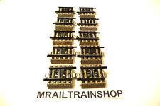 5109 MARKLIN-10x RECHTE RAIL/VOIE DROIT/STRAIGHT TRACK MÄRKLIN (K15-1997)