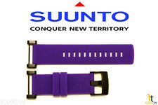 Suunto Core ORIGINAL Violet Rubber Watch BAND Strap Kit w/ 2 Pins