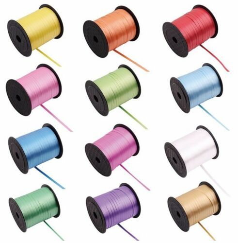 Wedding 50 Metres Balloon String Tie Curling Ribbon All Colours Baloons string
