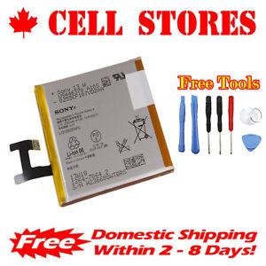 Original-OEM-SONY-Xperia-Z-LT36-Battery-C6602-C6603-LIS1502ERPC-2330mAh-Tools