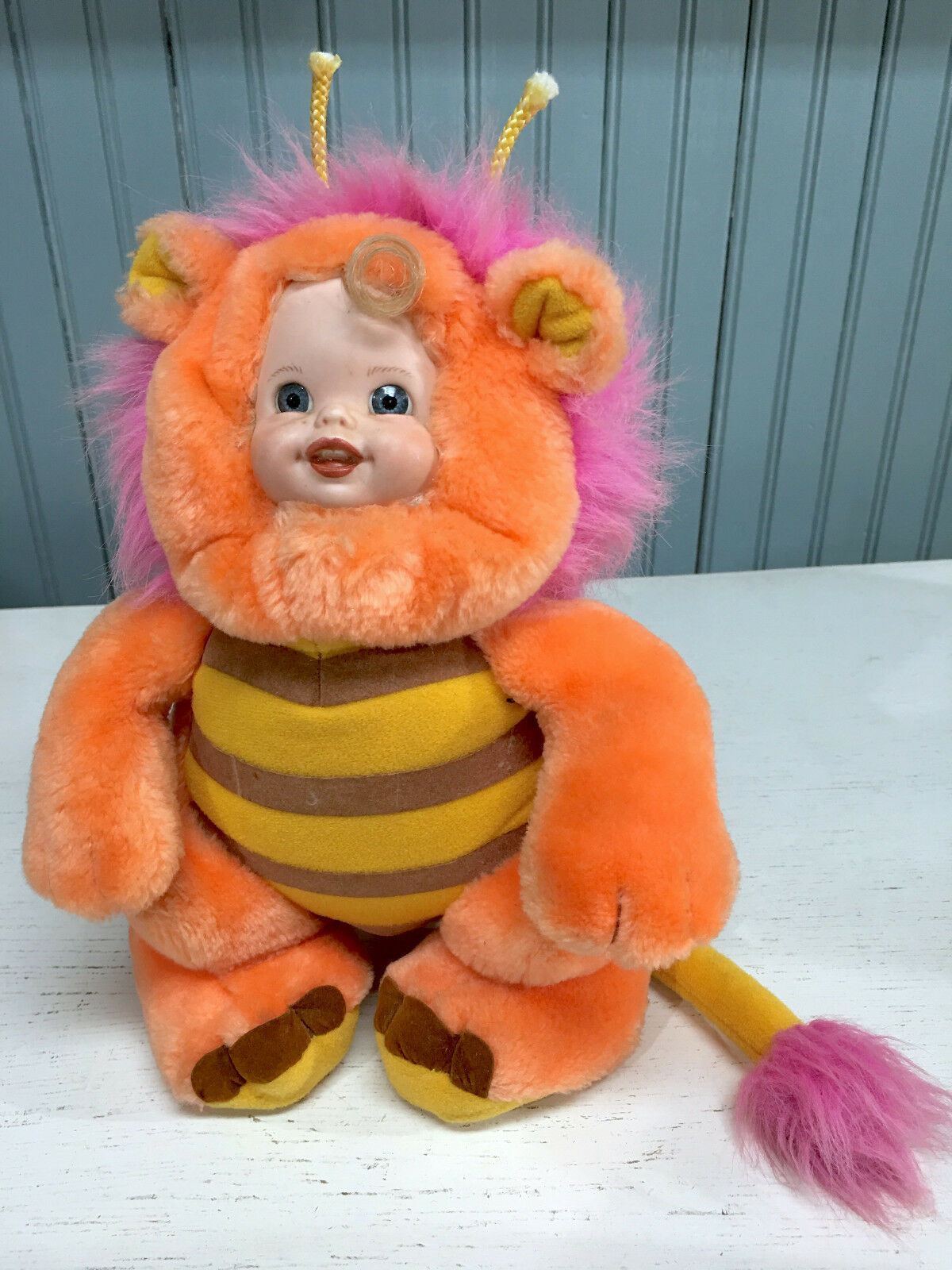 Wuzzles Babyface Bumblelion One of a Kind Hybrid Plush VTG Hasbro Art Piece