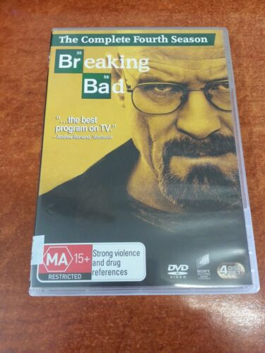 1 of 1 - Breaking Bad The Complete Fourth Season DVD (24103)