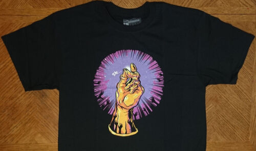 Thanos Snap gauntlet T-shirt Marvel Infinity War stones