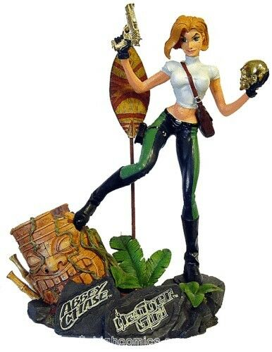 Danger girl, Abbey Chase, statue, J.Scott Campbell