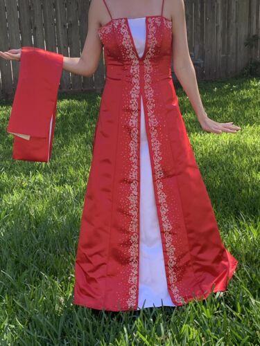Red/white Prom Dress