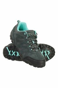 Mountain Warehouse Womens Outdoor Walking Shoes Ladies Cushioned Hiking Trainers