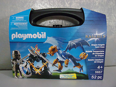 Playmobil Knights 5657 Dragon Knights Carry Case NIP