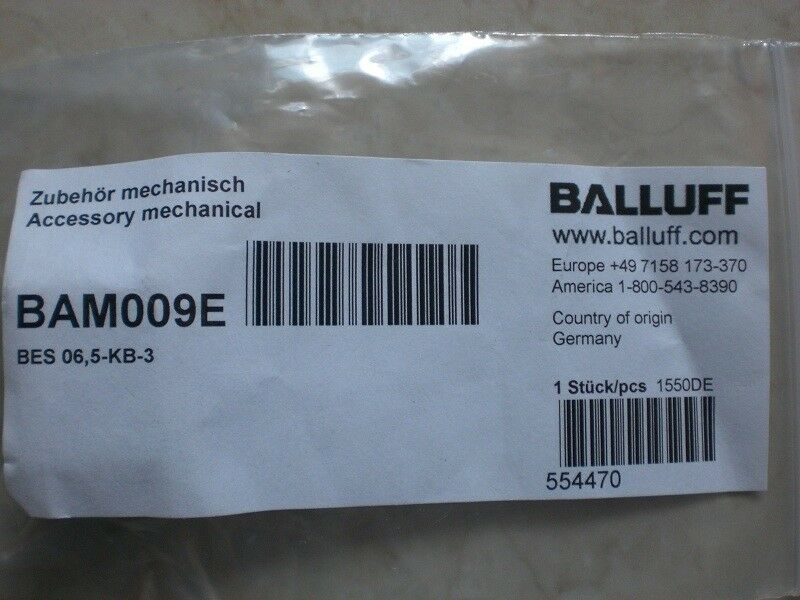 1PC new  BALLUFF BAM009E BES 06,5-KB-3