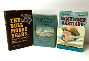 Theodore-Roosevelt-Book-Lot-The-Bull-Moose-Years-The-Political-Battle-Of-1912