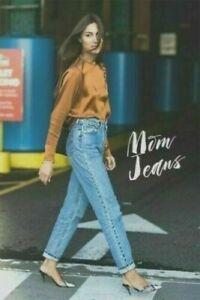 Vintage-LEVI-039-S-501-jeans-Sizew-30L32-W29-L32-UK-10-Femmes-Taille-Haute-Taille-Femmes