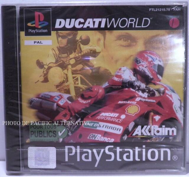 NEUF -  jeu DUCATI WORLD pour Playstation 1 ps1 psx course moto race bike NEW