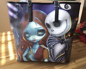 JASMINE-BECKET-GRIFFITH-Disney-Loungefly-Nightmare-Before-Christmas-Tote-Handbag