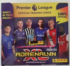 2020-21-PANINI-Adrenalyn-EPL-Soccer-Cards-Booster-Box-50-packets-300-cards