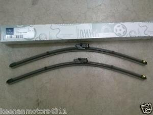Genuine oem mercedes benz c clk class w203 c209 a209 for Mercedes benz windshield wiper blades