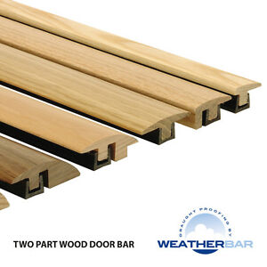 Image is loading Solid-Wood-Height-Adjustable-Flooring-Profiles-Trims-Door-  sc 1 st  eBay & Solid Wood Height Adjustable Flooring Profiles Trims Door Bars ...