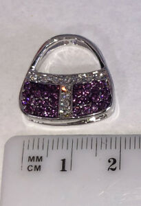 Purple-Crystals-Purse-Pendant-for-Necklace-Stainless-Steel-Jewelry-PUR050