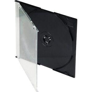 CD Slimline Joyero 5.2mm With Negro Bandeja/Caja Of 200 Fundas