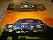 deagostini rally car collection Issue 47 1973 Alpine Renault A110 Jean-Luc Theri