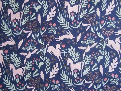 More 100/% Cotton Tradewinds Pink Michael Miller Fabric FQ