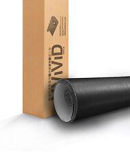 VViViD Brushed Black Aluminum Vinyl car Wrap 1ft x 5ft bodywork decal 3mil