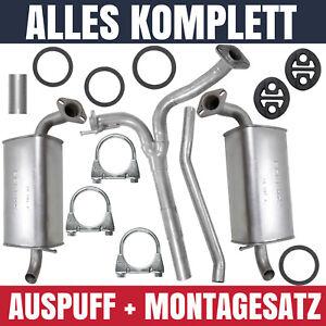 Auspuffanlage-Auspuff-Mazda-6-1-I-GG-GY-2-0-2-3-Schraegheck-Limousine-Kombiwagen