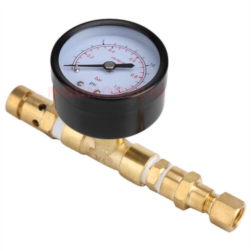 Ball Lock Adjustable Pressure Relief Valve Gauge For Beer Keg HomeBrew Bar Tool