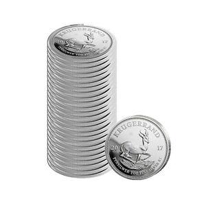 25er Investment - 1 oz Silber Krügerrand 2017 1 Rand Südafrika 50 Jahre Jubiläum