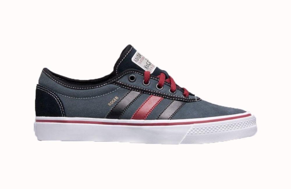 Adidas ADI EASE ROGER Dark Onyx Gray White Cardinal White Gray Discounted (186) Men's Shoes 1049df