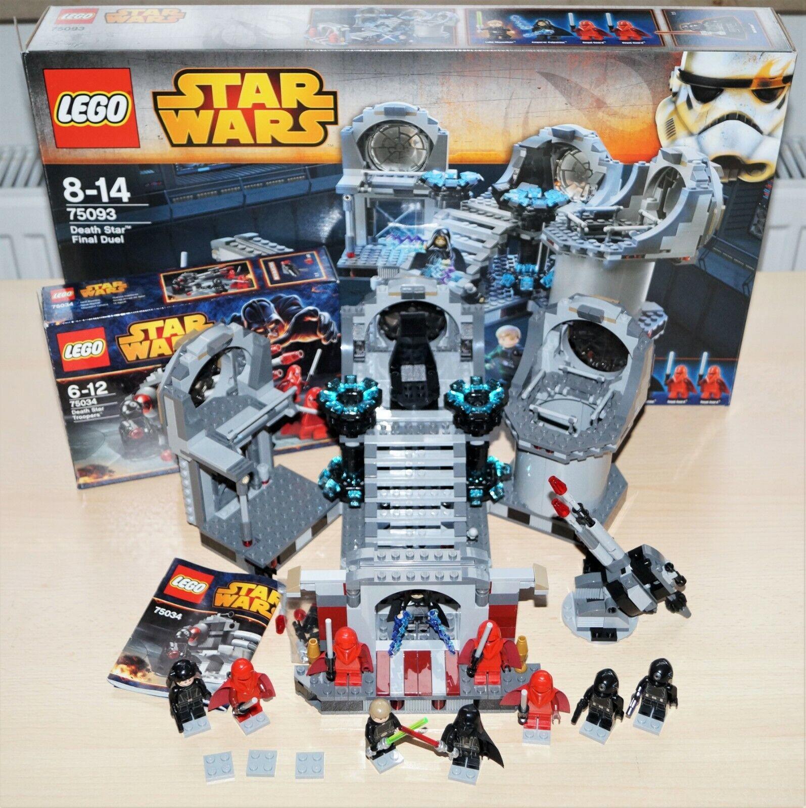 LEGO Star Wars 75093 + 75034 Final Duell + Death Star Trooper OVP   OBA
