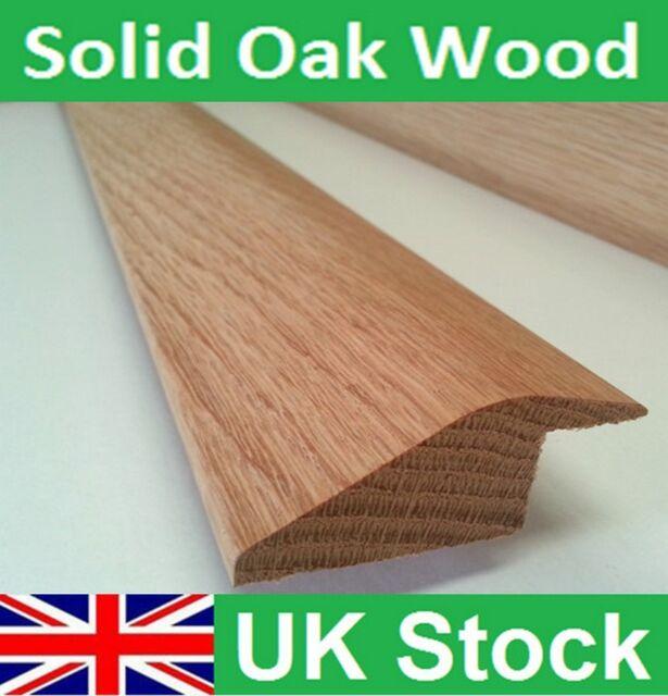 Solid Oak Wood Flooring Ramp Reducer Threshold Door Strip 1 metre length