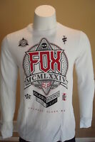 Fox Racing Round Up Long Sleeve L/s Thermal Shirt White