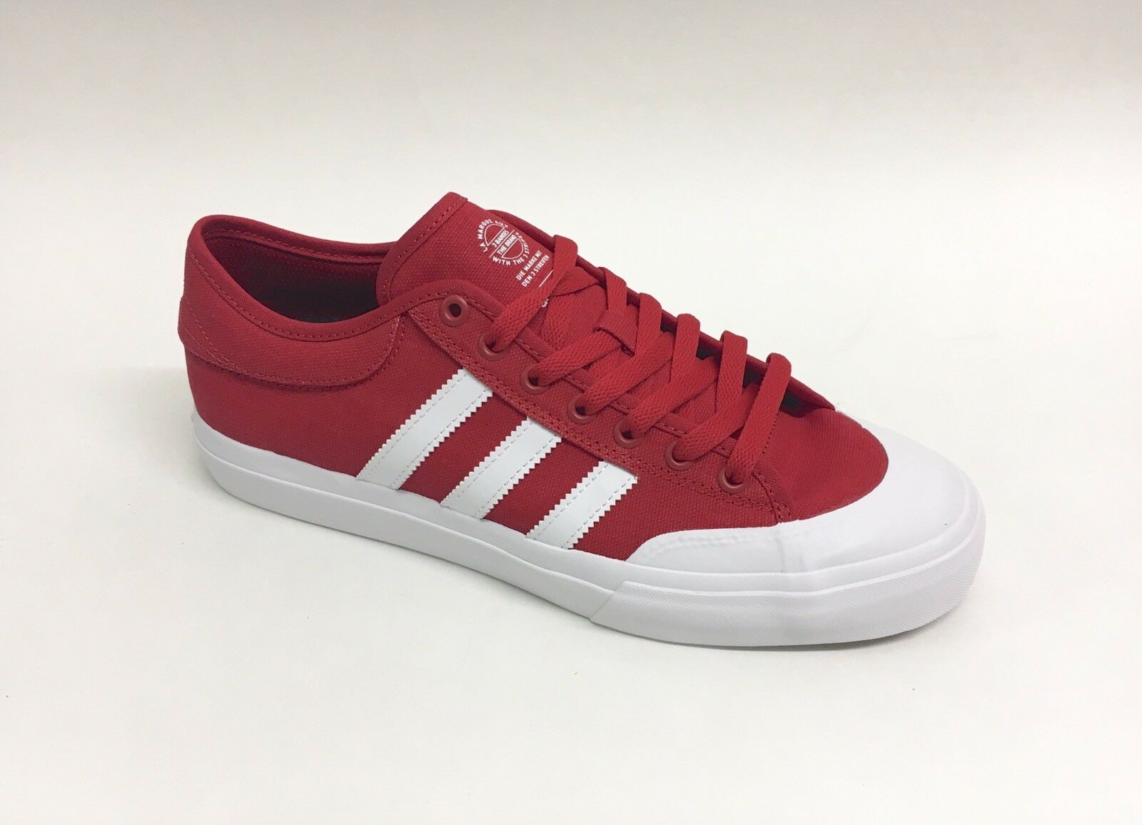 Adidas Skateboarding Matchcourt Shoe Scarlet Red Men's Size 11