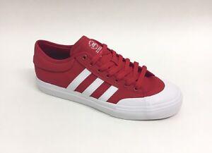 reputable site 62c0a 894e9 Image is loading Adidas-Skateboarding-Matchcourt-Shoe-Scarlet-Red-Men-039-