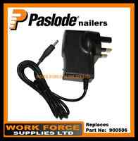 QUALITY REPLACEMENT, AC/DC UK MAINS ADAPTER- FOR PASLODE CHARGER BASE