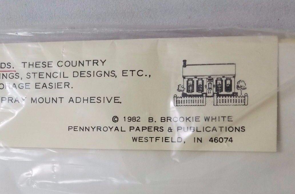 Vintage 8 Pouliot Papiers Emballage Cadeau Bleu Faisans 8 Vintage Sheets 1982 9c2160