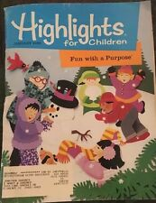 VTG Highlights For Children Magazine Jan 1999 Martin Luther King ! Free Shipping