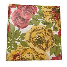 Mcm Norwood Retro Floral 3 Ring Binder 1 Ring Vintage Office Rare