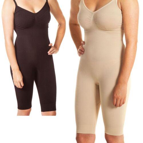 WOMEN FULL BODY SHAPER BODYSUIT THIGH BUM LIFT FIRM SLIM CONTROL SHAPEWEAR UK