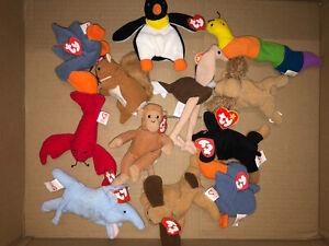 Ty-Teenie-Beanie-Babies-McDonalds-Happy-Meal-Toy-Bundle-x-12-Vintage