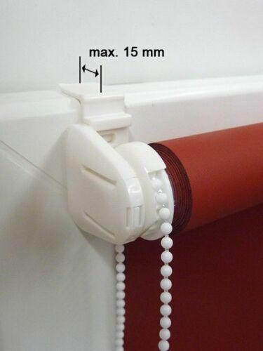 Mini Rollo-Klemmrollo-Klemmfix Thermo Rollo 140 cm Höhe