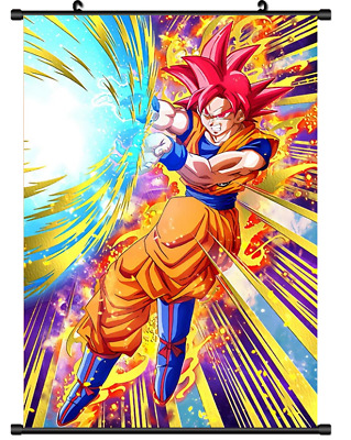 "Hot Japan Anime Dragon Ball Z Son Goku Home Decor Poster Wall Scroll 8/""x12/"" P14"