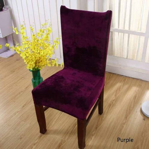 Comfortable Velvet Chair Cover 7 Colors Living Room House Decor Warm Hot Sale