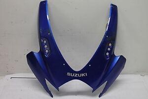 06-07-SUZUKI-GSXR-600-GSXR-750-OEM-FRONT-UPPER-NOSE-FAIRING-COWL-SHROUD