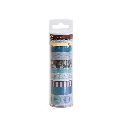 Blue 509703 NEW Tropical Life Washi Tube By Recollections™