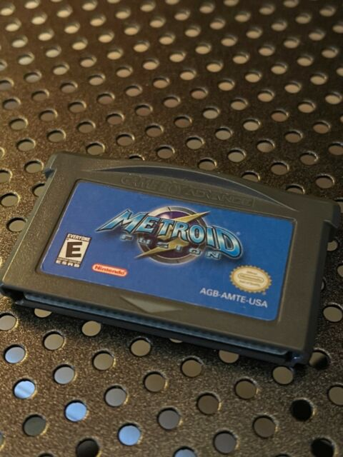 Metroid Fusion loose authentic tested Gameboy Advance GBA