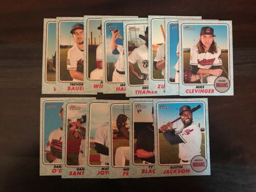PICK ANY U NEED 2017 TOPPS HERITAGE HIGH NUMBER Blue Border Parallel //50 SP