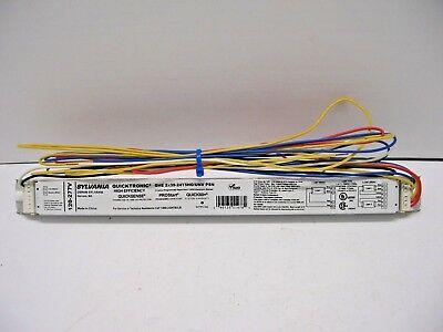 10 OSRAM 51478 QHE 2X39-24T5HO//UNV PSN 120-277V 2 LAMP ELECTRONIC BALLAST
