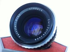 Mint Carl Zeiss PANCOLAR electric 1.8/50mm Zebra M42 German Lens Screw Mount