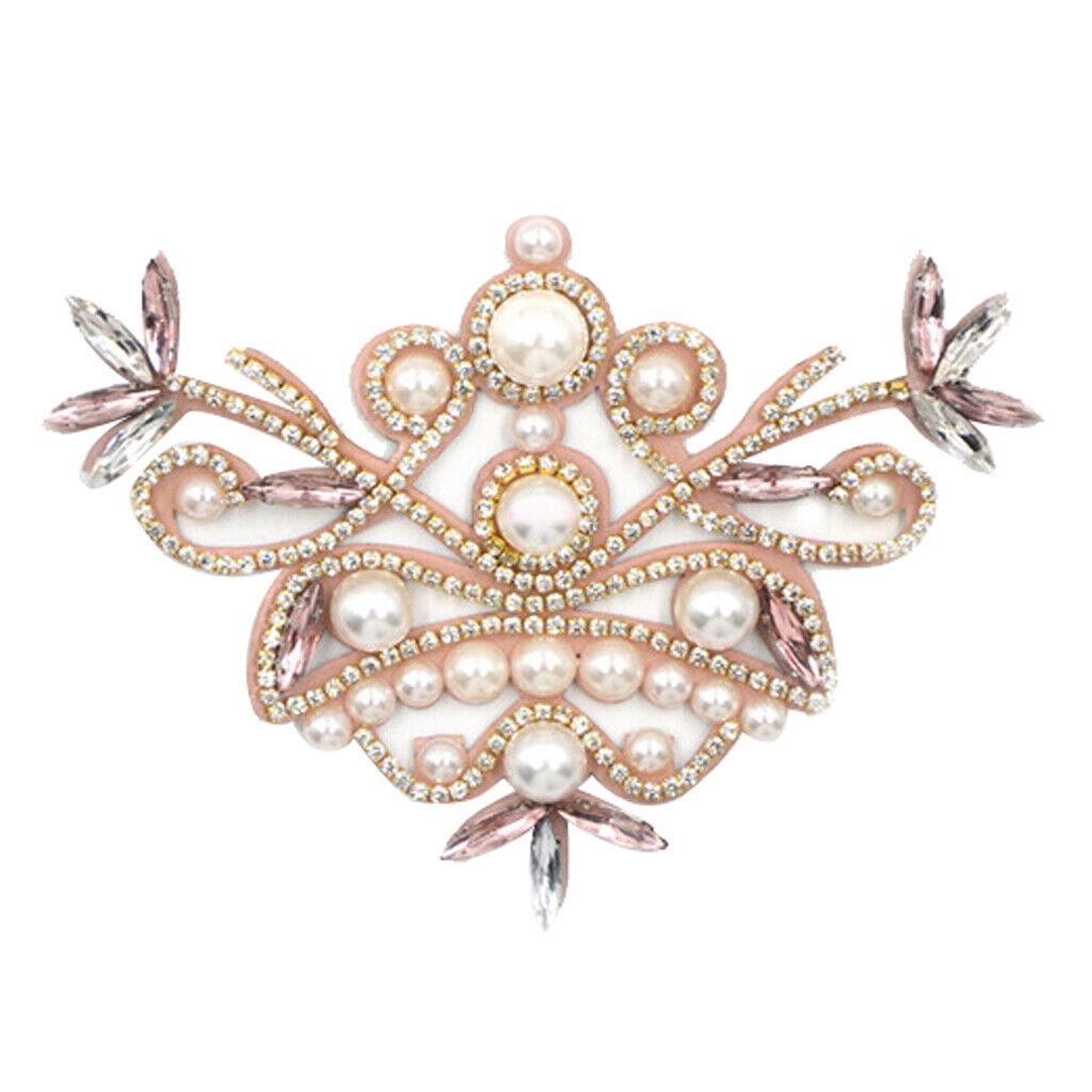 Crystal Rhinestone Shoe Charms Buckle Bridal Detachable Shoe Clip Decor Cute -